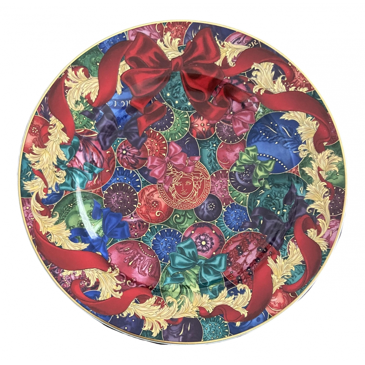 Versace - Arts de la table   pour lifestyle en porcelaine - rouge