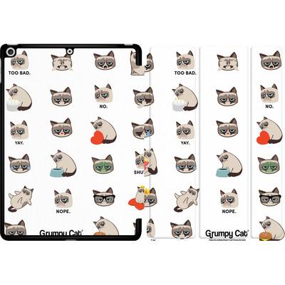 Apple iPad 9.7 (2017) Tablet Smart Case - Grumpy Cat Pattern von Grumpy Cat