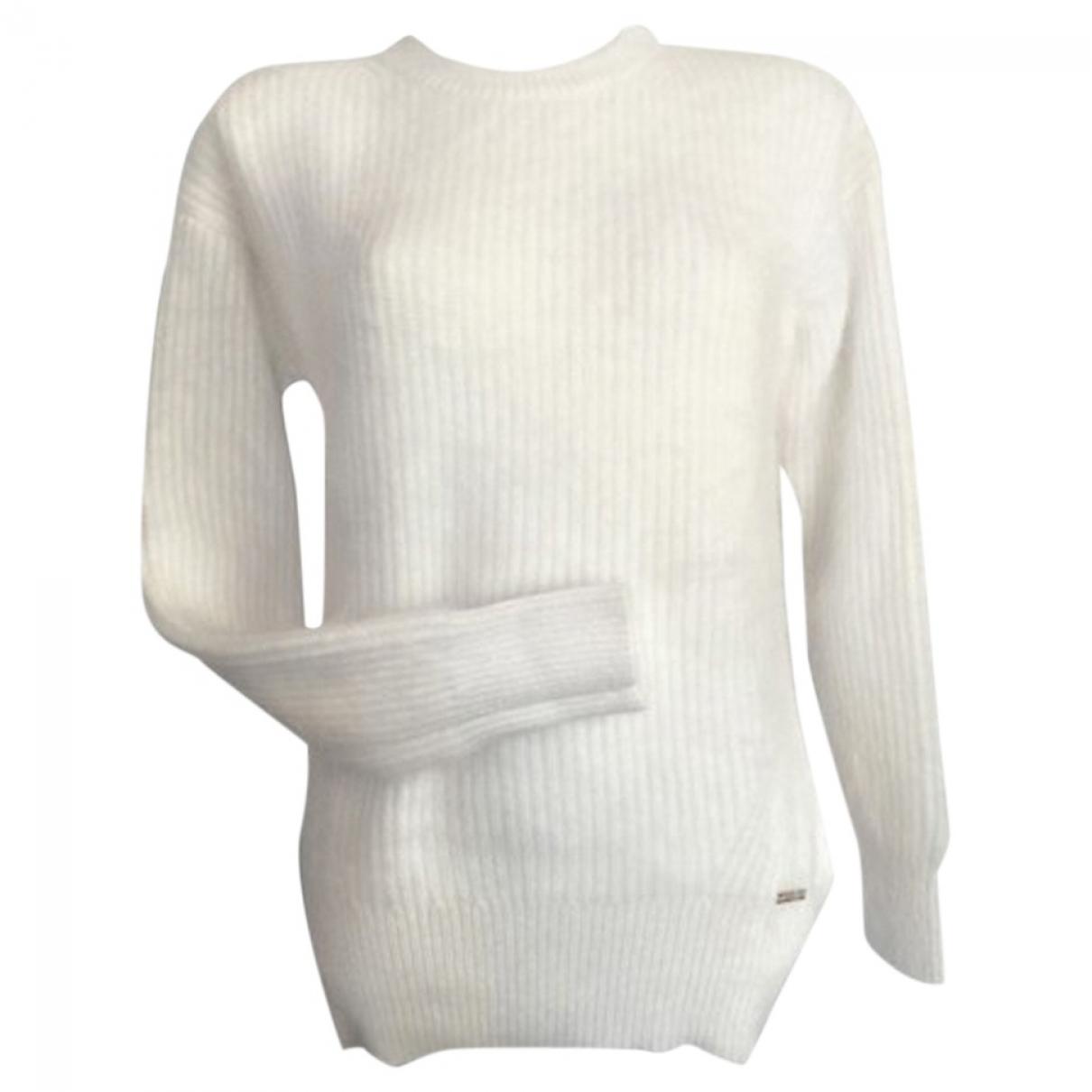 Michael Kors \N Pullover in  Ecru Wolle