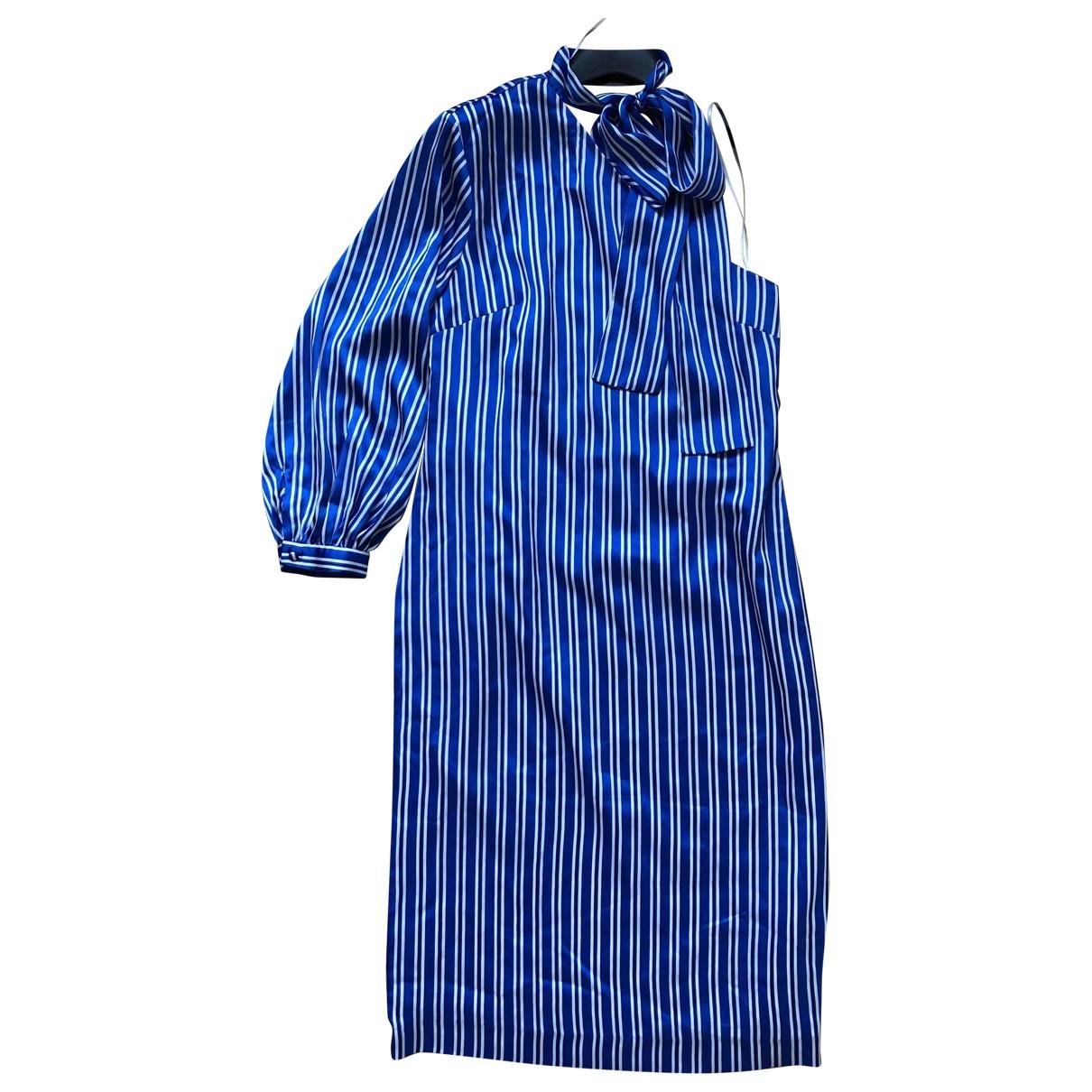 Banana Republic \N Kleid in  Blau Polyester