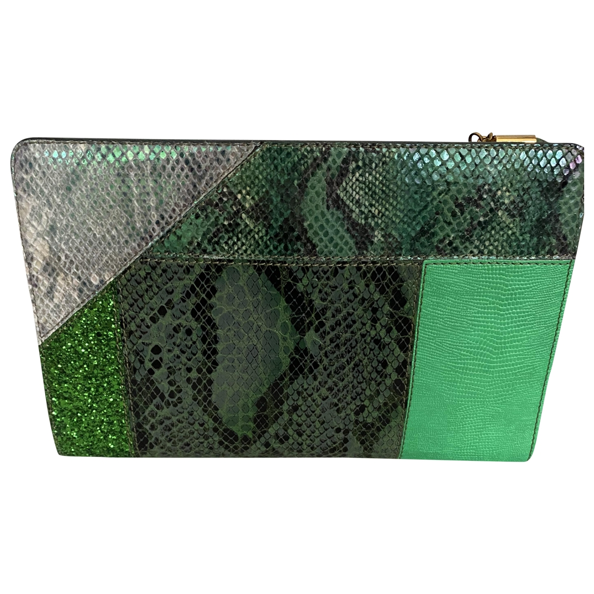 Stella Mccartney \N Green Cloth Clutch bag for Women \N