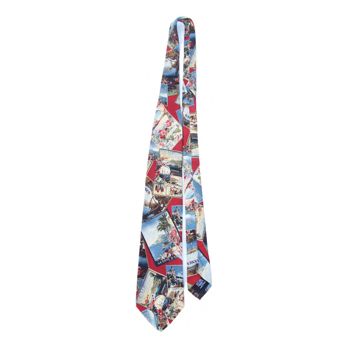 Hugo Boss \N Krawatten in  Bunt Seide