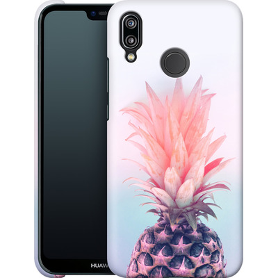 Huawei P20 Lite Smartphone Huelle - Pastel Pineapple von Emanuela Carratoni
