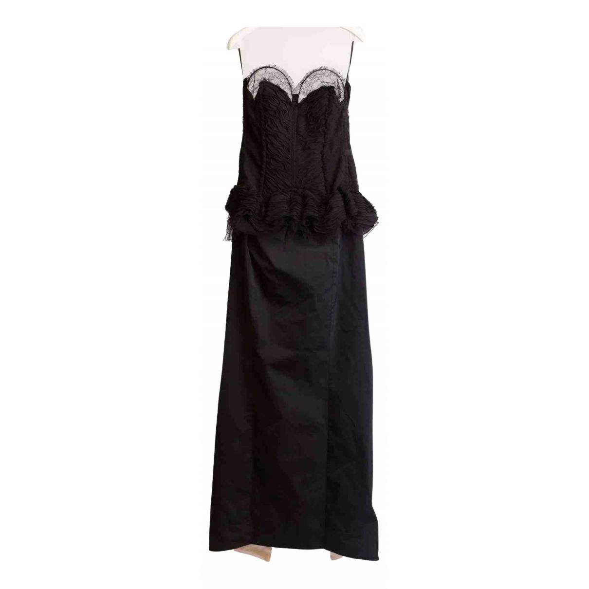 Nina Ricci \N Kleid in  Schwarz Spitze