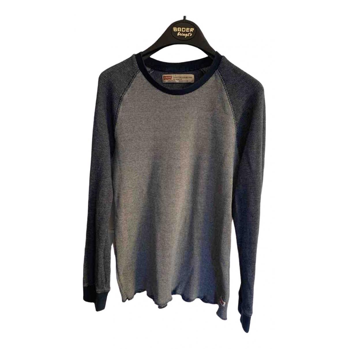 Levis \N Pullover.Westen.Sweatshirts  in  Blau Baumwolle