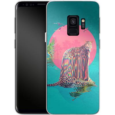 Samsung Galaxy S9 Silikon Handyhuelle - Jaguar von Ali Gulec