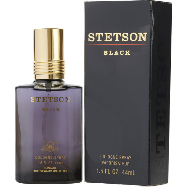 Stetson Black - Coty Balsamo aftershave 44 ML