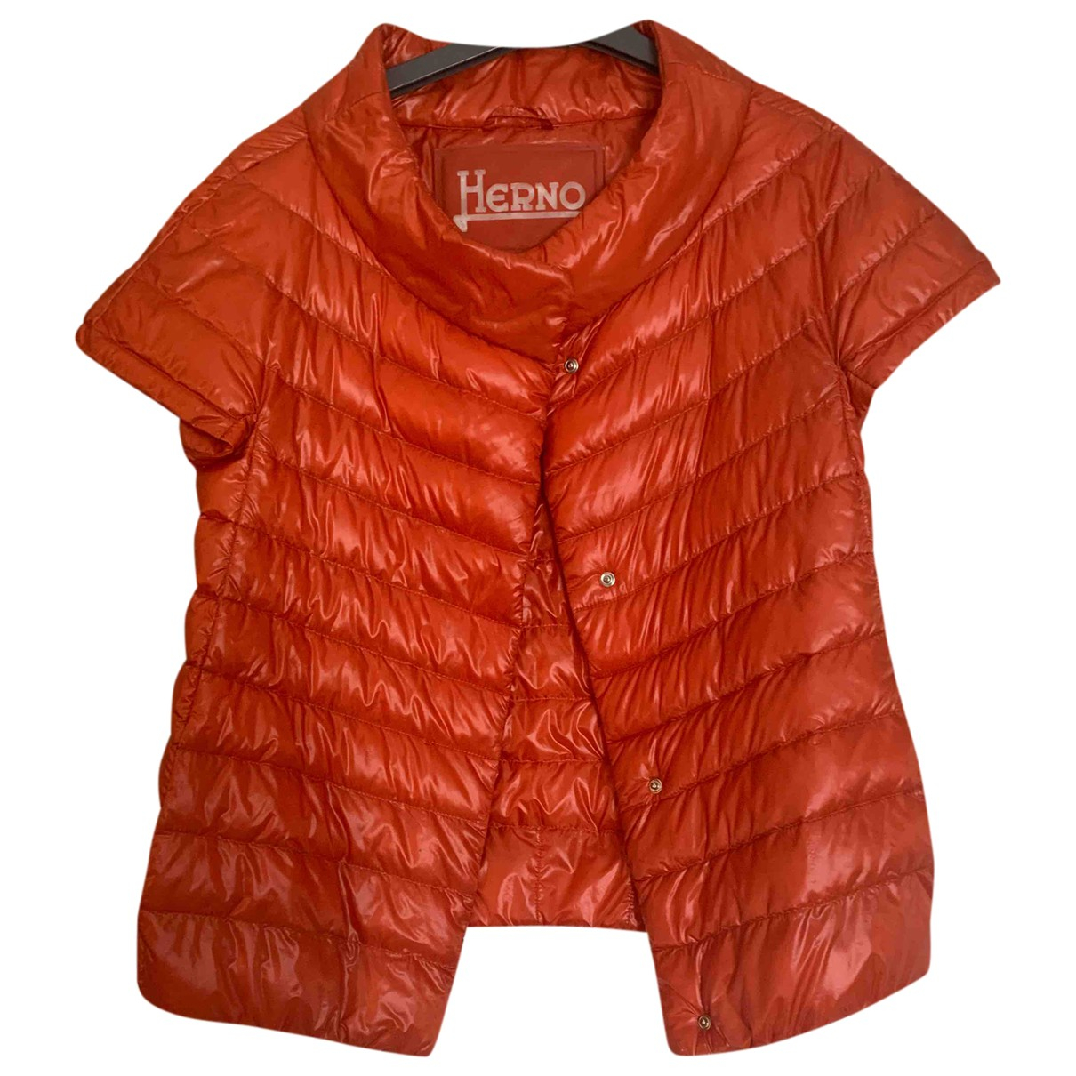 Herno \N Red jacket for Women 38 FR