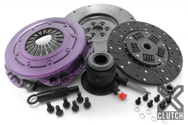 XClutch XKFD26690-1A Clutch Kit with Chromoly Flywheel + HRB Stage 1 Single Sprung Organic Disc