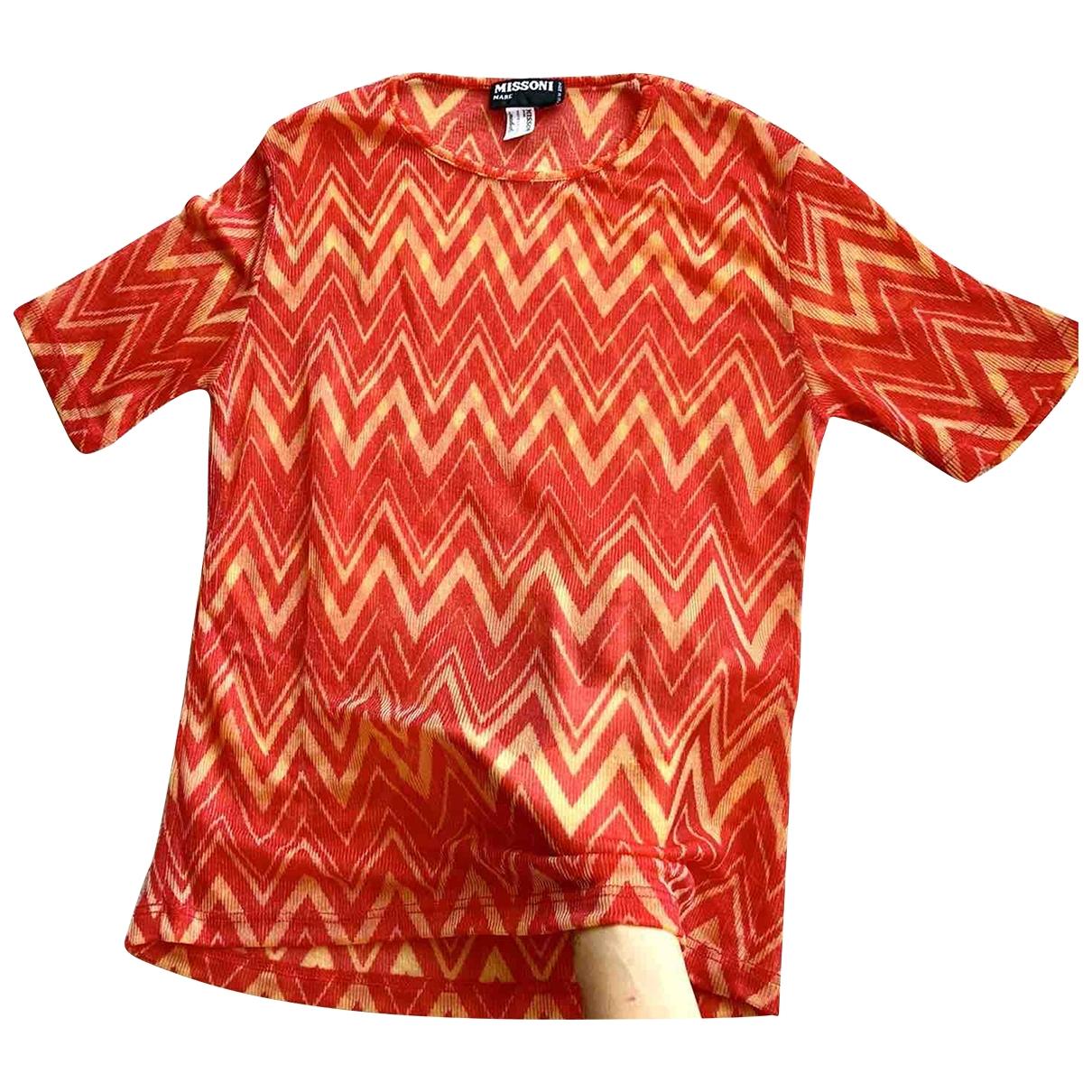 Missoni - Top   pour femme - rouge