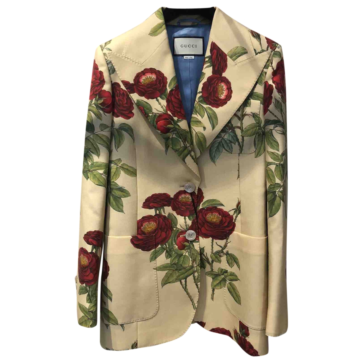 Gucci \N Ecru Wool jacket for Women 38 IT