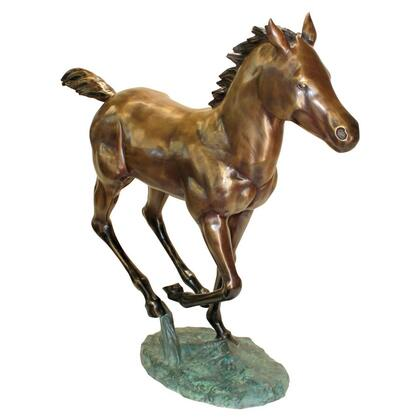 PB1165 Galloping Foal Bronze