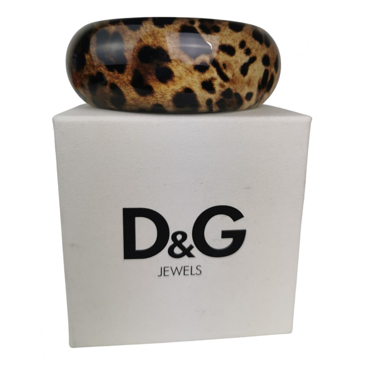 D&g \N Armband in  Braun Kunststoff