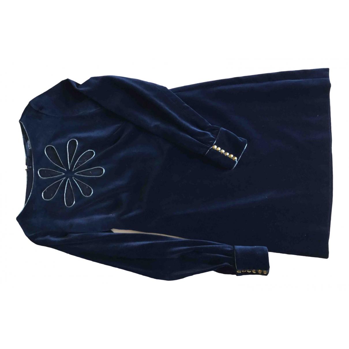 Azzaro \N Kleid in  Bunt Baumwolle - Elasthan