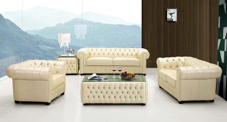 258 2583-LVCH 3-Piece Living Room Set with Sofa  Loveseat and Chair in