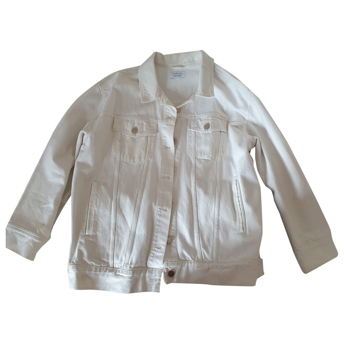 & Stories \N White Cotton jacket for Women L International