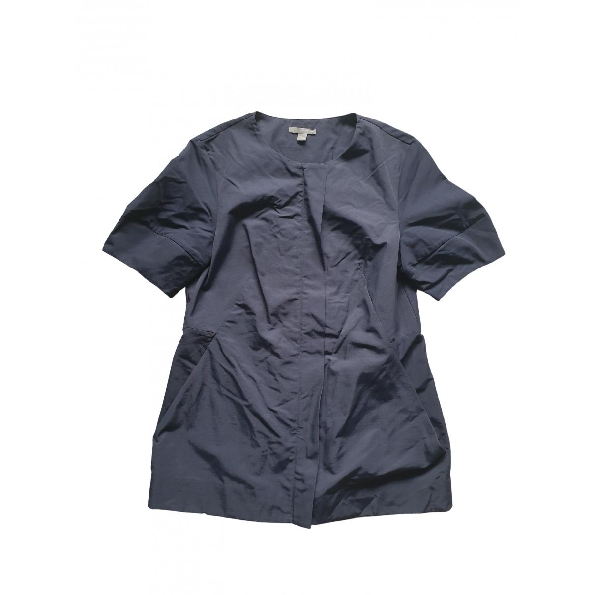 Cos - Veste   pour femme en coton - bleu