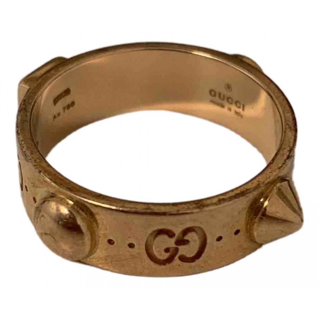 Gucci - Bague Icon pour femme en or rose - dore