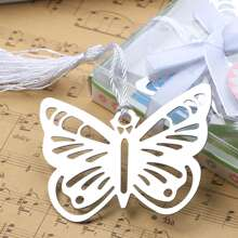 2pcs Butterfly Shaped Bookmark