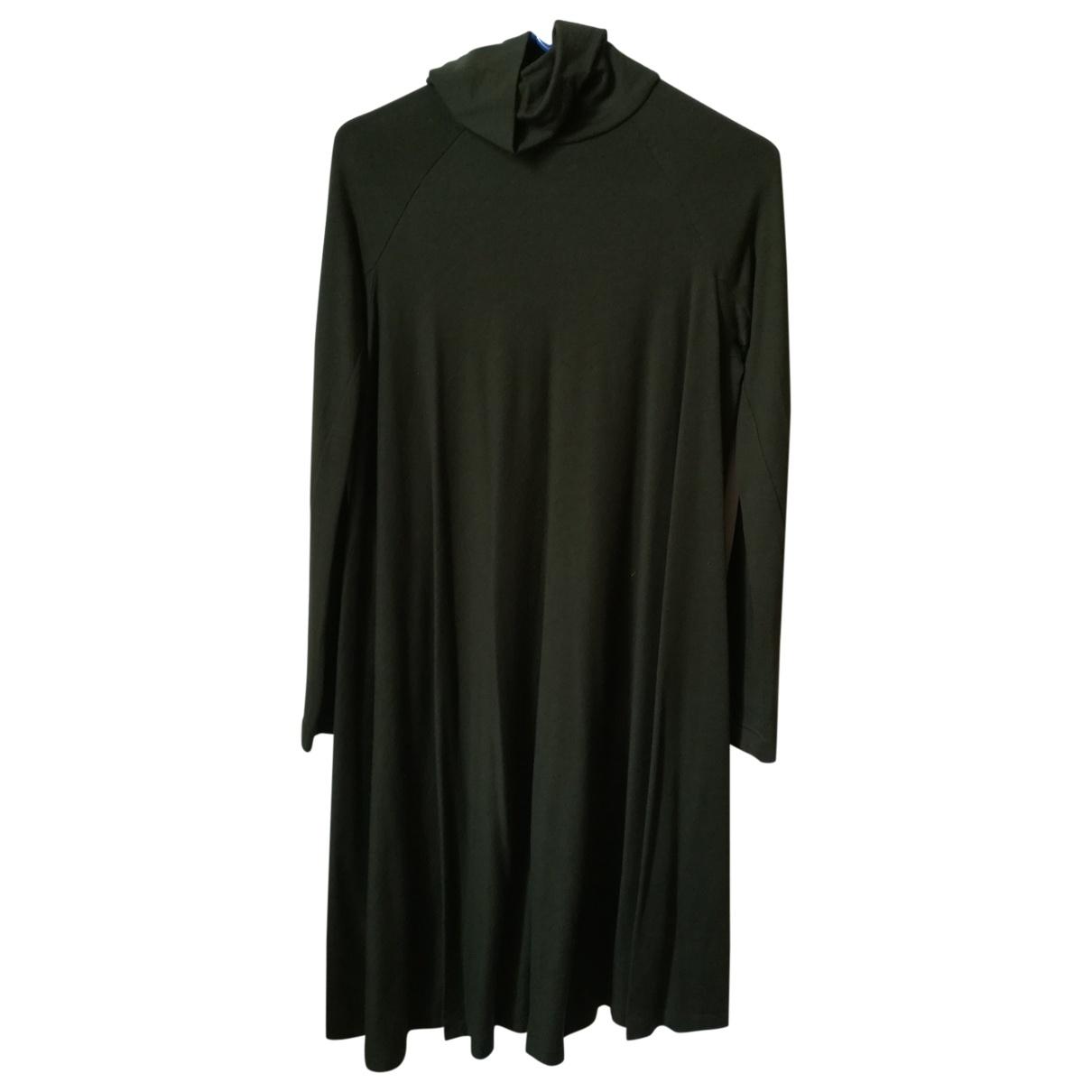 Aspesi \N Kleid in  Gruen Wolle