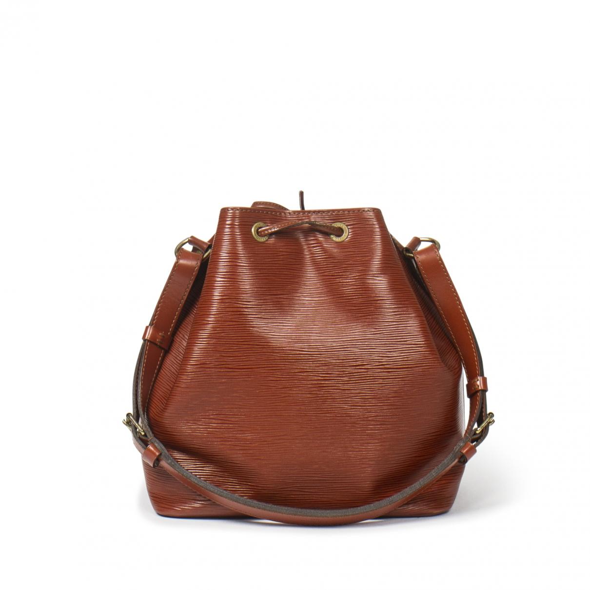 Louis Vuitton Noé Khaki Leather handbag for Women \N