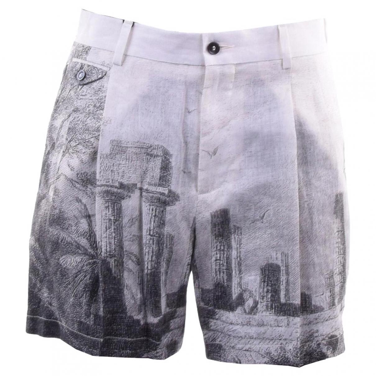 Dolce & Gabbana \N Beige Shorts for Men 44 IT