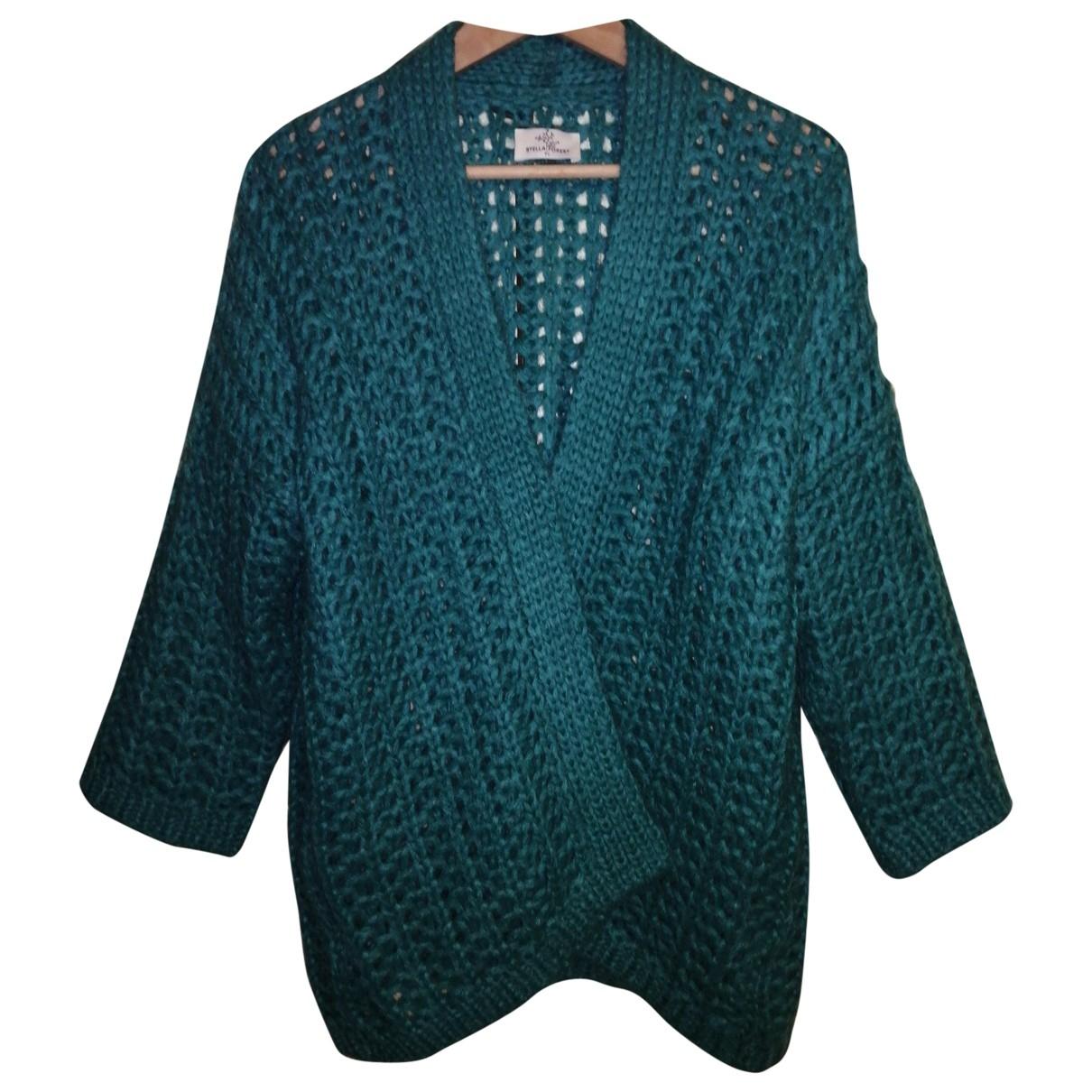 Stella Forest - Pull   pour femme en laine - turquoise