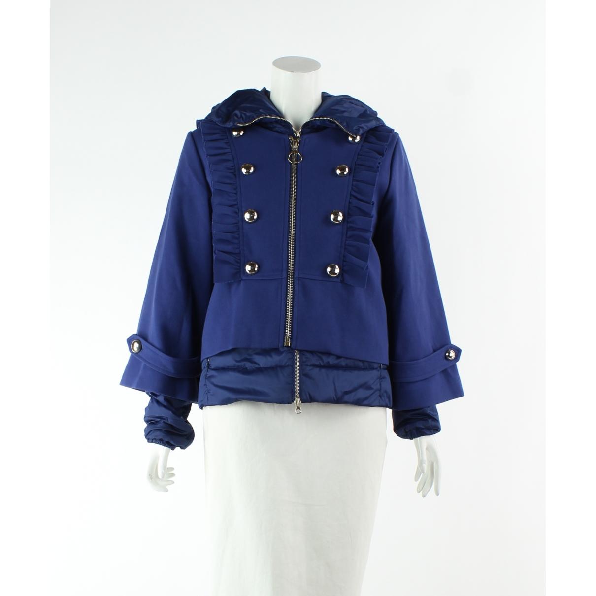 Pinko \N Blue jacket for Women 42 IT