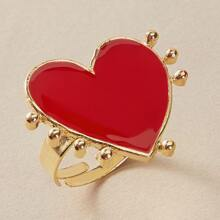 1pc Heart Ring