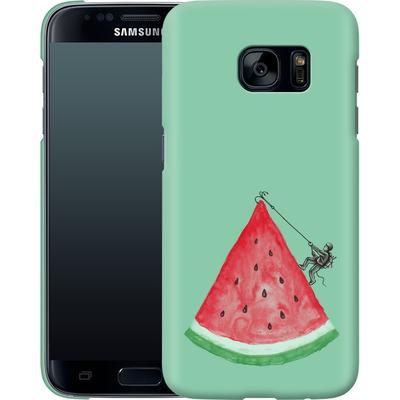 Samsung Galaxy S7 Smartphone Huelle - Summer Climb von Enkel Dika