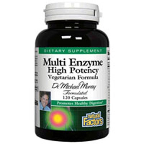 Dr. Murray's Multi Enzyme Vegetarian Formula 120 Vcaps by Natural Factors