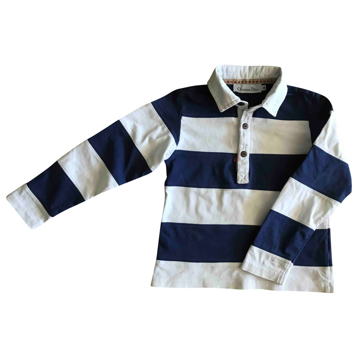 Dior - Top   pour enfant en coton - marine