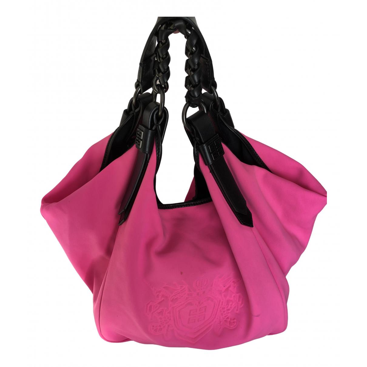 Givenchy \N Handtasche in  Rosa Leinen