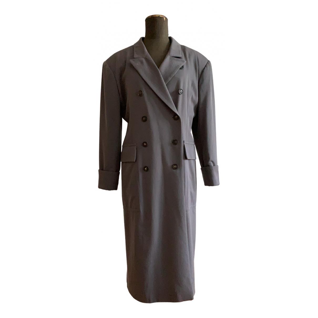 Jil Sander - Manteau   pour femme en laine - gris