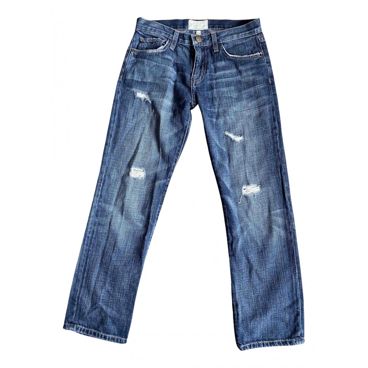 Current Elliott N Blue Denim - Jeans Jeans for Women 24 US