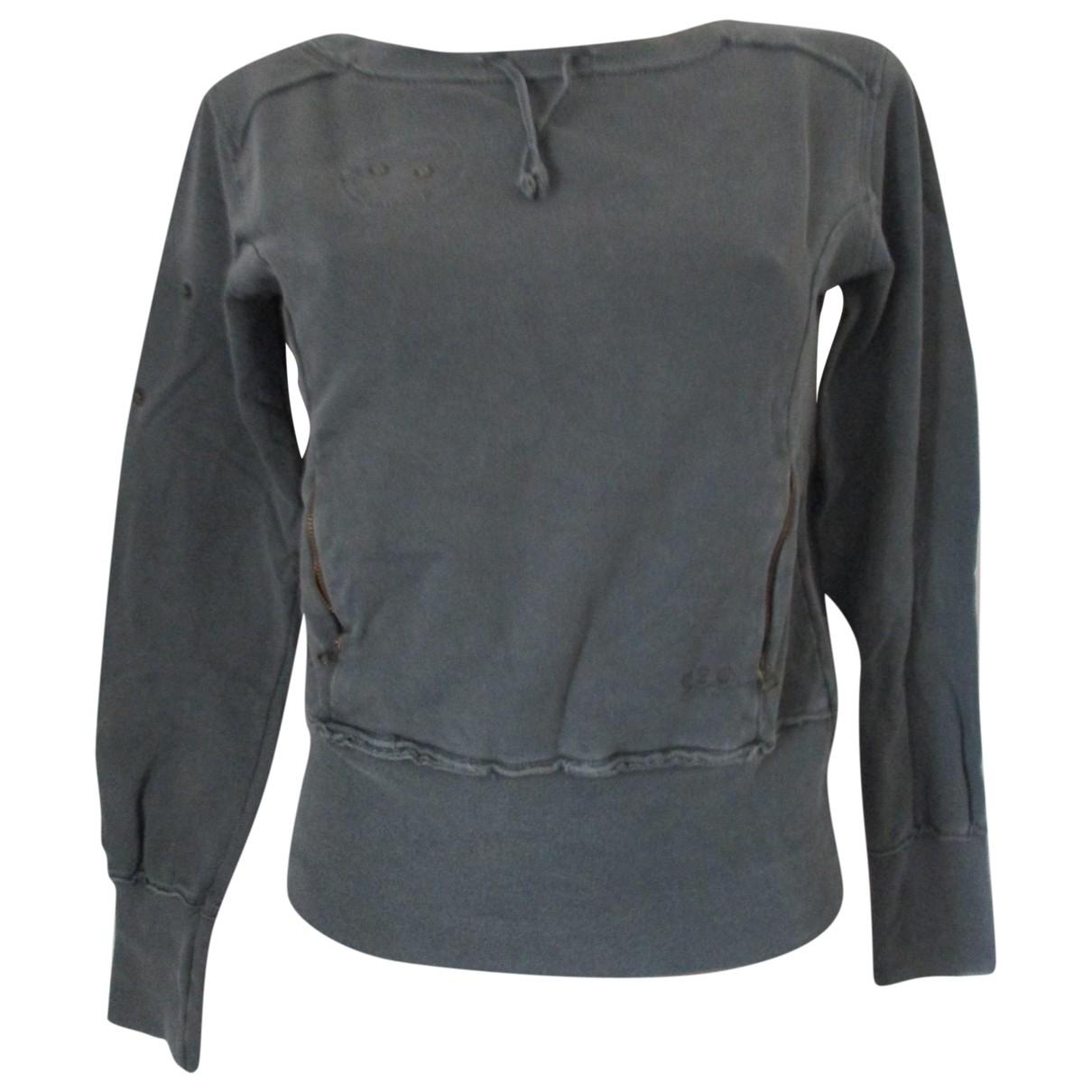 Patrizia Pepe \N Pullover in  Grau Baumwolle