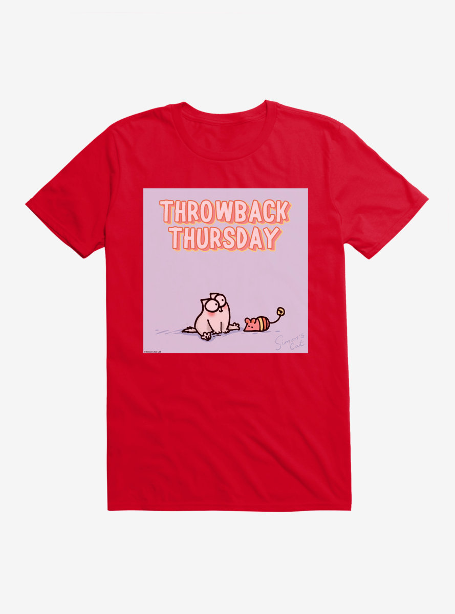 Simon's Cat Throwback Thursday T-Shirt