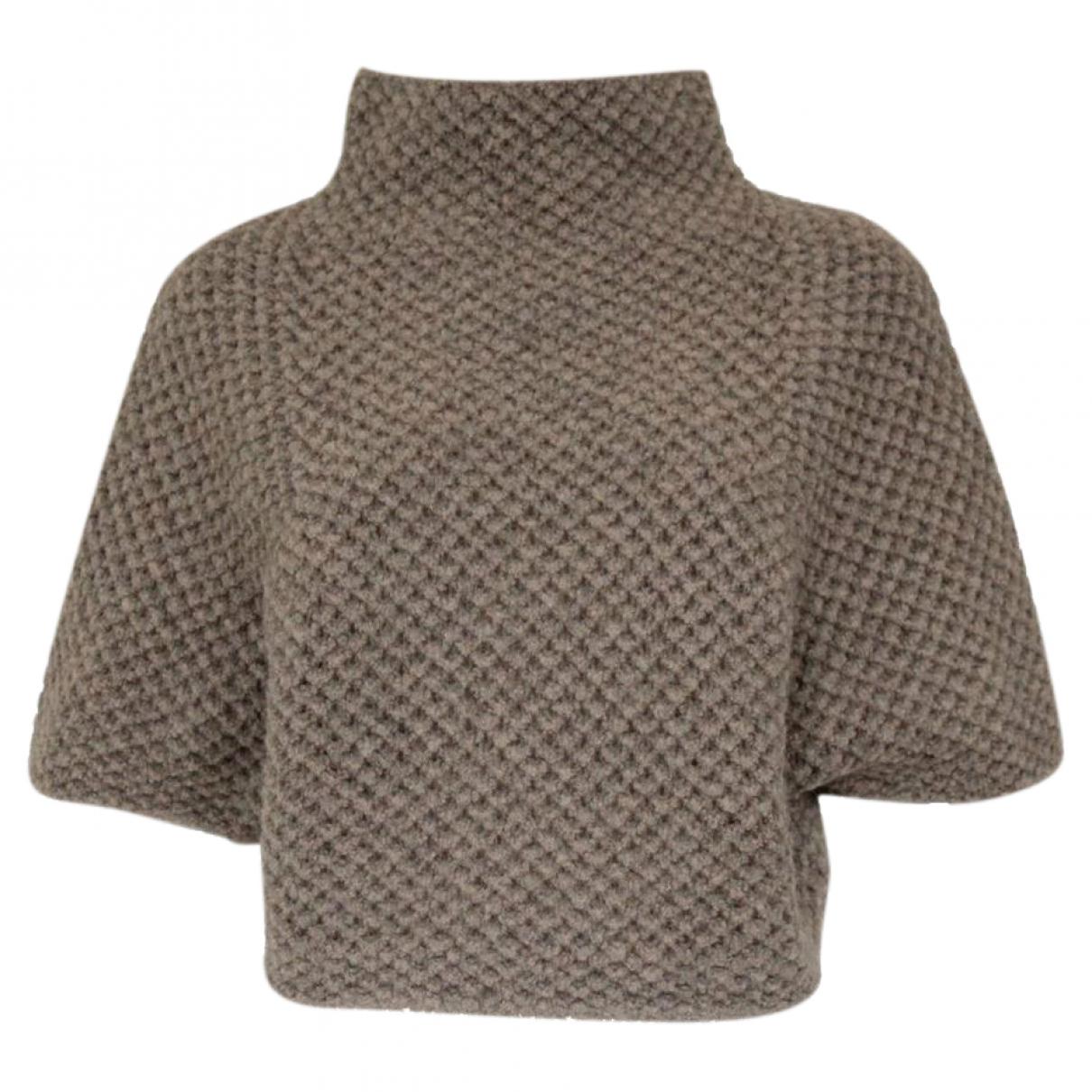 Fabiana Filippi - Pull   pour femme en laine - gris