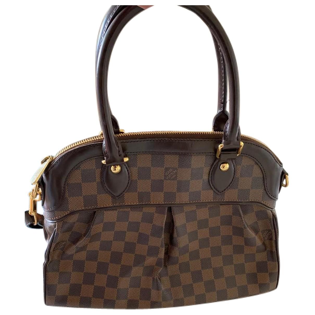 Louis Vuitton Trevi Brown Cloth handbag for Women N
