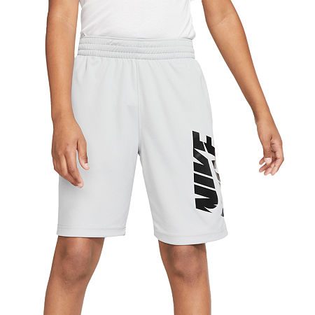 Nike Big Boys Basketball Short, Large , Gray