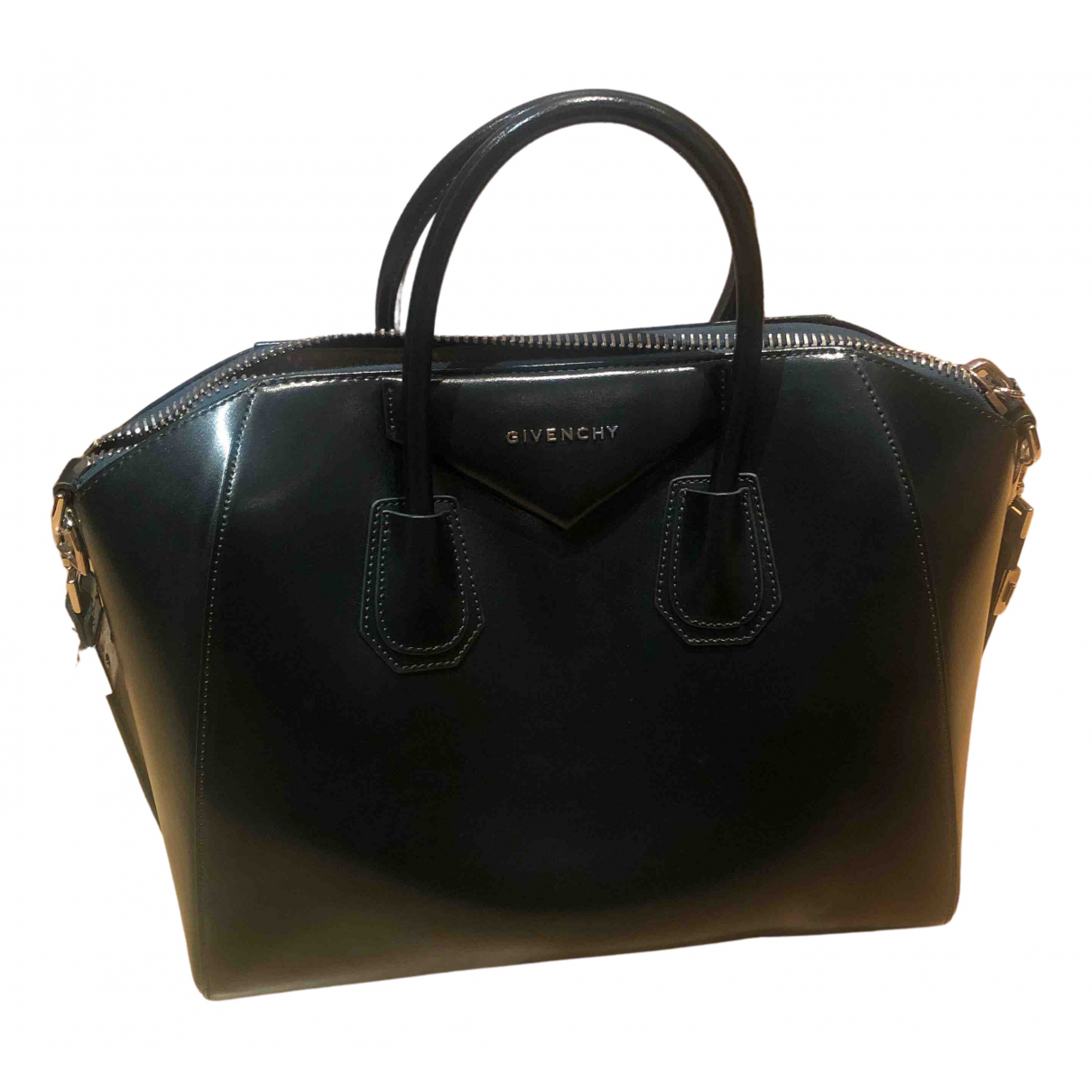 Givenchy - Sac a main Antigona pour femme en cuir - vert