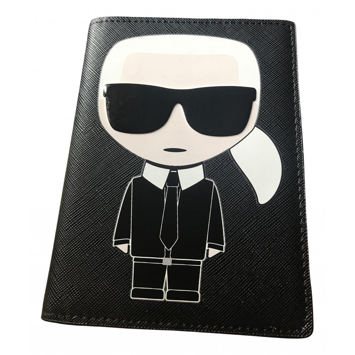 Karl Lagerfeld - Petite maroquinerie   pour femme en autre - noir