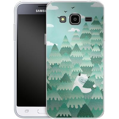 Samsung Galaxy J3 (2016) Silikon Handyhuelle - Tree Hugger von Little Clyde
