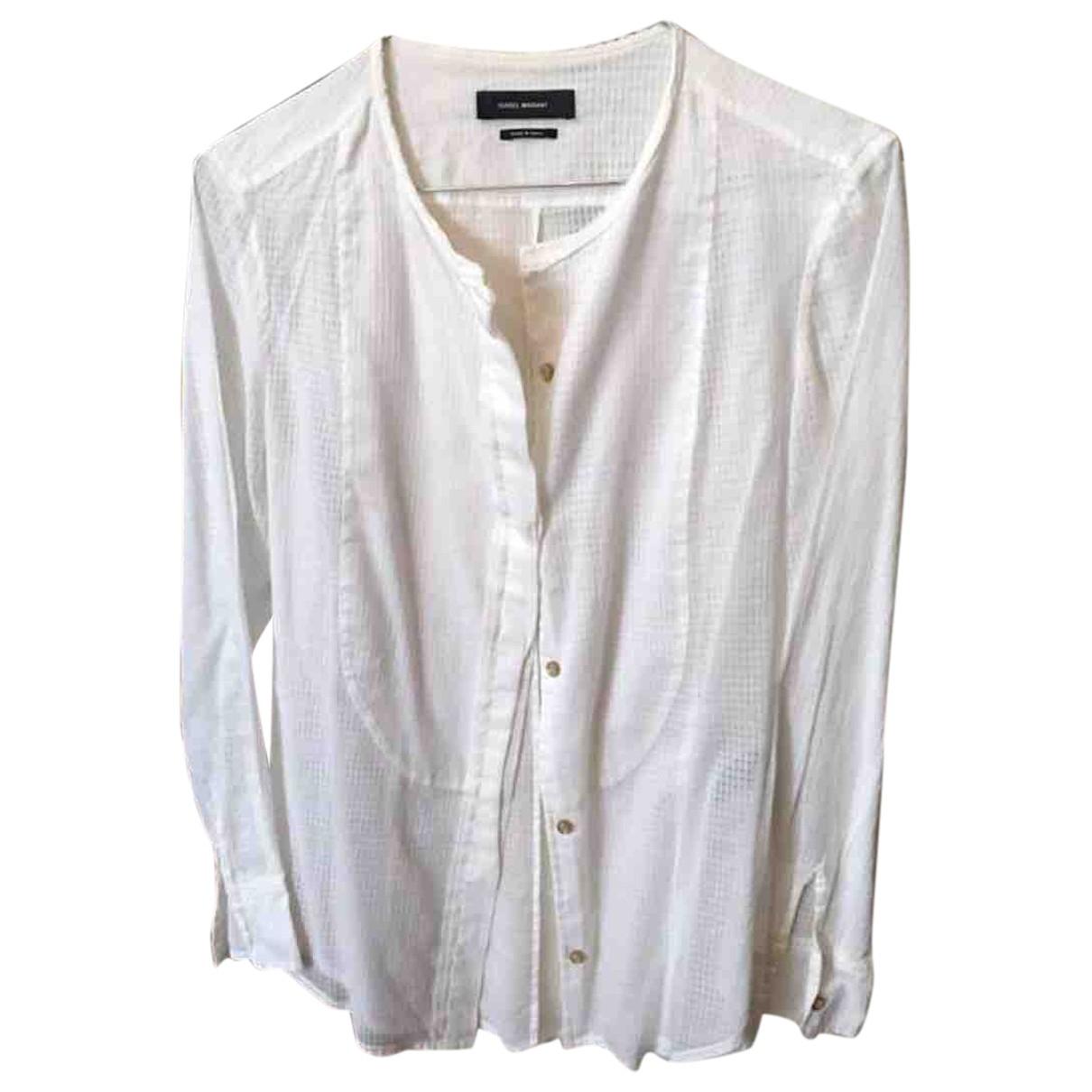 Isabel Marant \N White Cotton  top for Women 36 FR