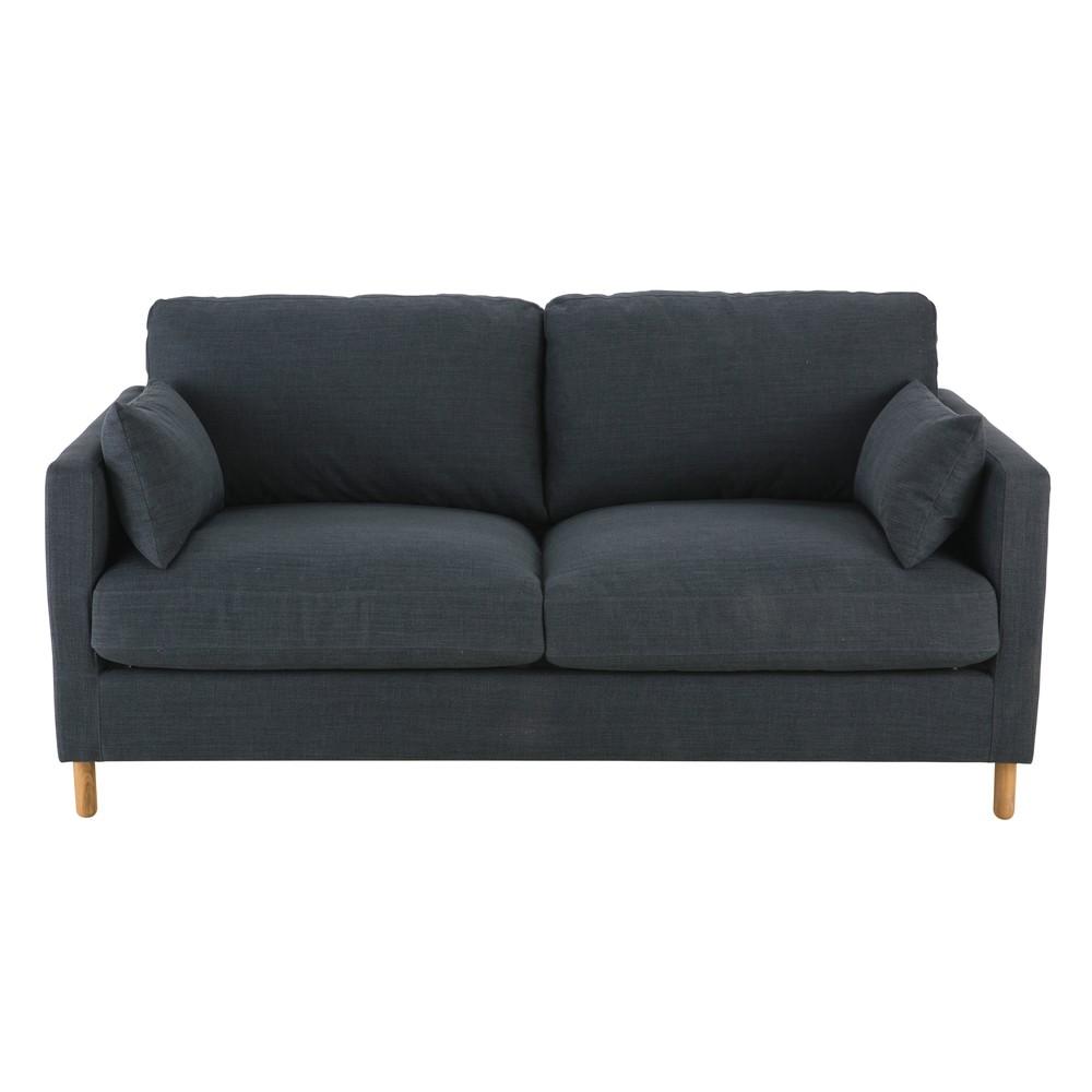 Ausziehbares 3-Sitzer-Sofa, anthrazitgrau Julian