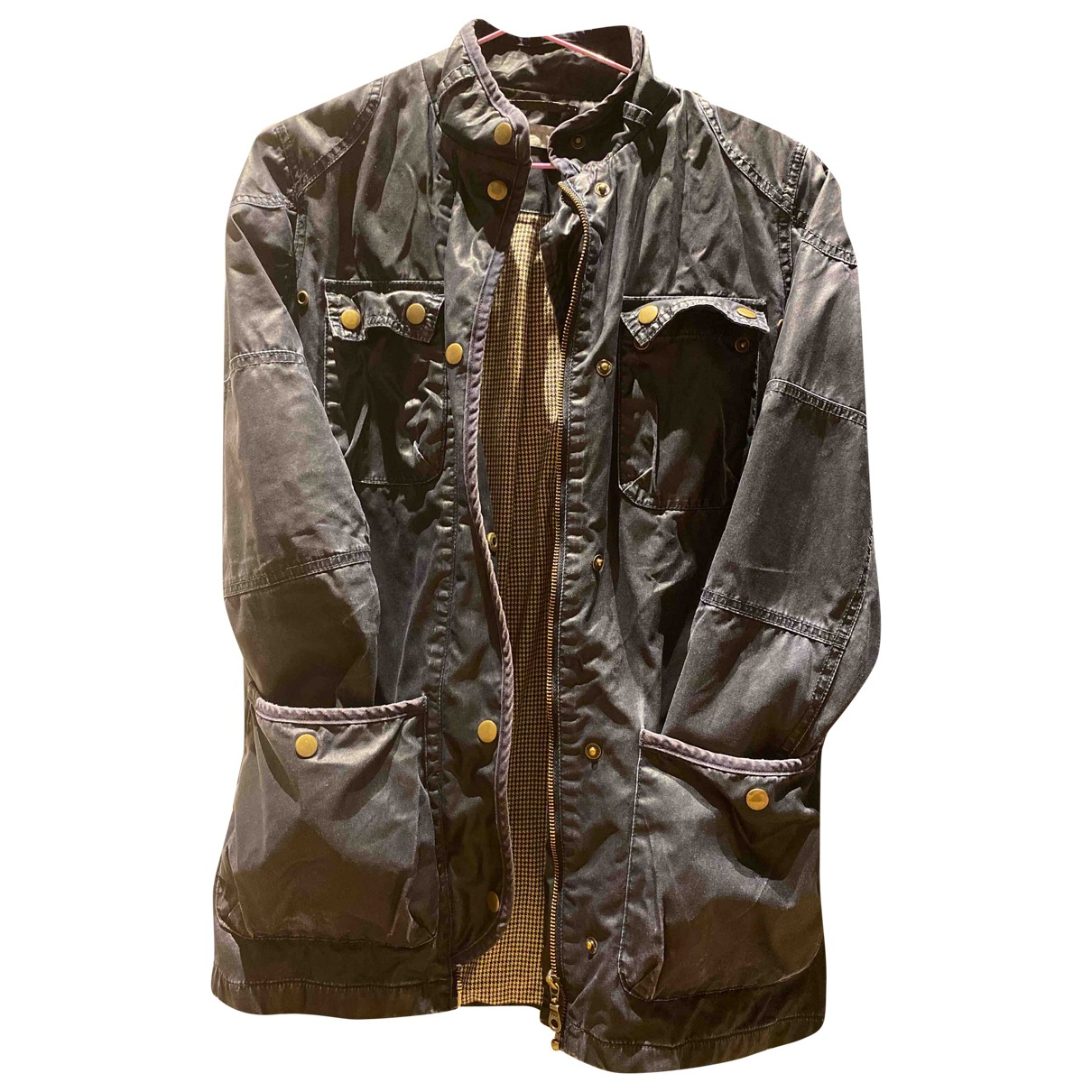 Whistles \N Navy Cotton jacket for Women 6 UK