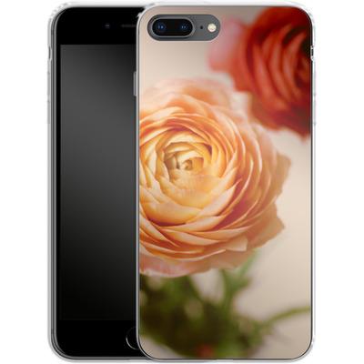 Apple iPhone 8 Plus Silikon Handyhuelle - She Loved Flowers von Joy StClaire