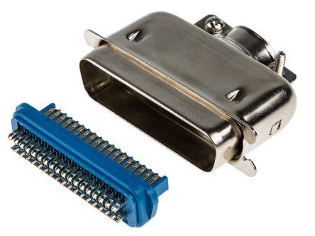 RS PRO 36 Way Rectangular Connector Plug