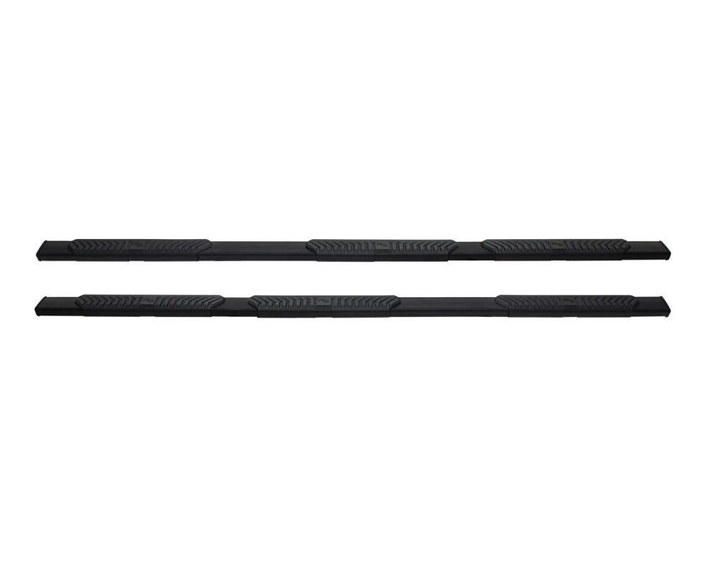 Westin Black R5 M-Series Wheel-to-Wheel Nerf Step Bars Ford F-250/F-350/F-450/F-550 Crew Cab 6.75ft 1999-2016