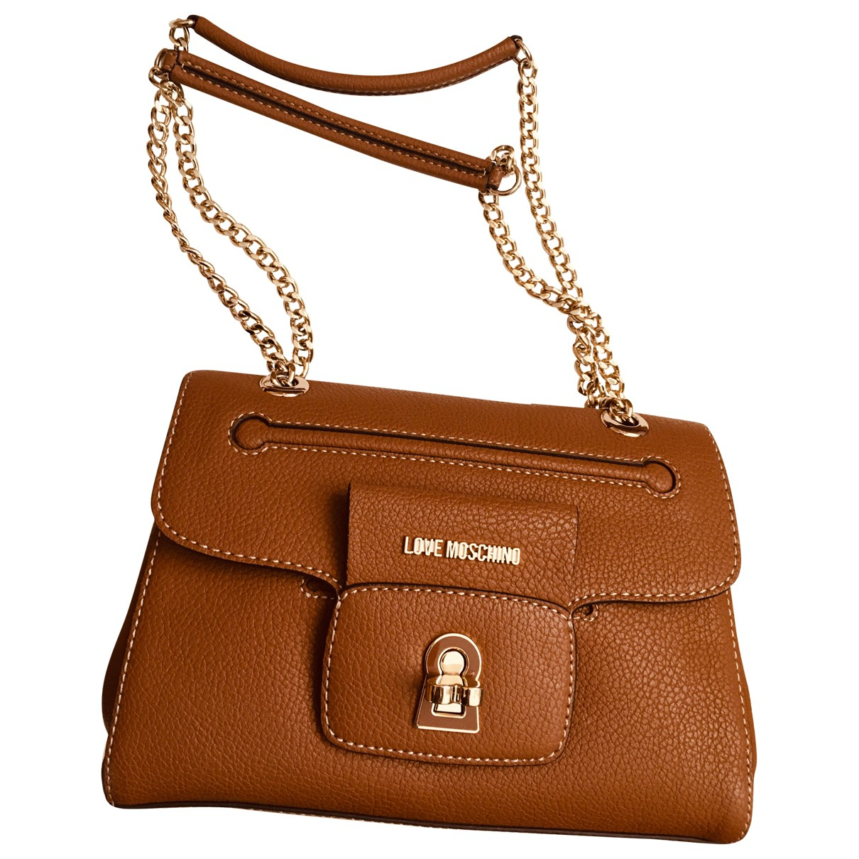 Moschino Love N Brown Faux fur handbag for Women N